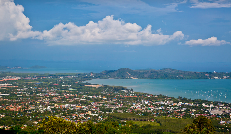 View from Big Buddha Hill