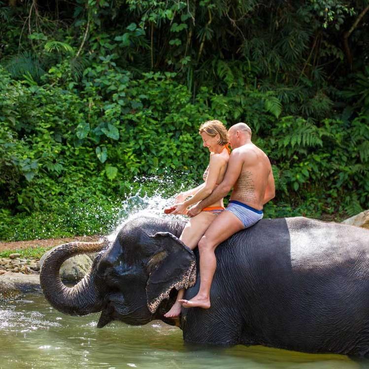 Khao-Lak-Elephant-Bathing
